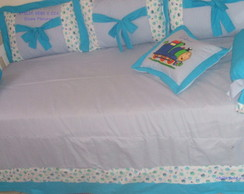 Kit Cama Bab� 7 P�s (Kit Bicama Thomas)