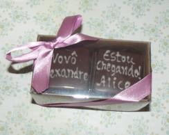 Lembran�a Chocolate 4 bombons