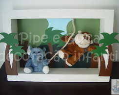 (DO 0032) Cen�rio decorativo zoo