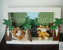 (DO 0031) Cen�rio decorativo zoo
