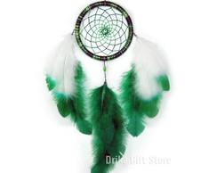 Filtro dos Sonhos Verde com Olho Grego