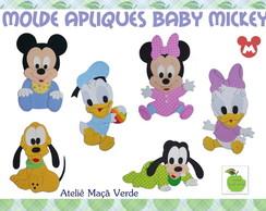 Molde Apliques Baby Mickey