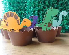 Whapper para cupcake dinossauros