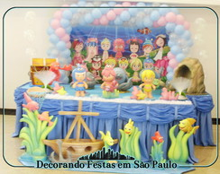 Decora��o Mesa Princesas do Mar