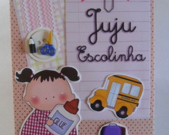 �lbum Decorado para Fotos - Escola