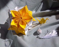 M�bile Kusudama Flower Ball