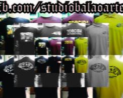 Camisas - Studio Bal�o Arte. Fa�a a sua!