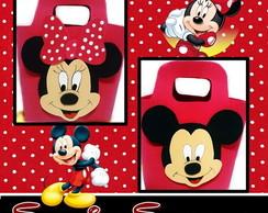 Sacolinha Surpresa E.v.a Mickey & Minnie