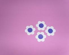 Florzinhas Azul para Decora��o.