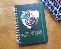 Cadernos Harry Potter Sonserina