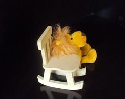 Cadeira de balan�o para decora��o