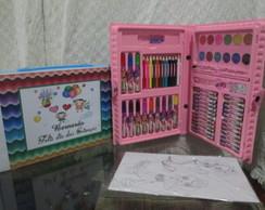 Kit escolar com 68 P�s personalizados
