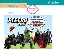 Convite Digital Herois
