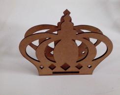 Porta Guardanapo Coroa MDF 3mm