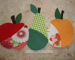 Aplique Frutas partidas