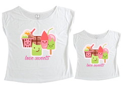 T-shirts Love Sweets