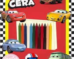 Giz de Cera - Carros Disney