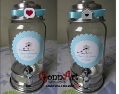 Suqueira de Vidro- Capacidade3 litros