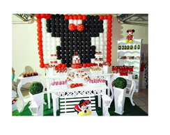 Decora��o Festa Infantil Minnie