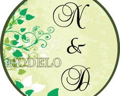 Adesivo Latinha - Casamento