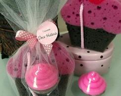 Lembrancinha Kit Banho Cupcake