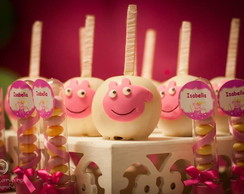 Ma�a de Chocolate Peppa Pig