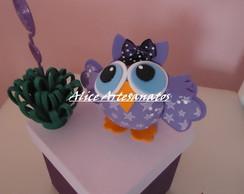 Caixa decorada com Coruja