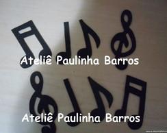 Apliques Notas Musicais