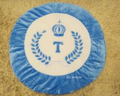 Tapete Coroa Imperial Azul *Frete Gr�tis
