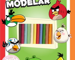 Massa de Modelar - Angry Birds