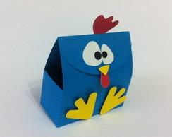 Caixinha galinha pintadinha
