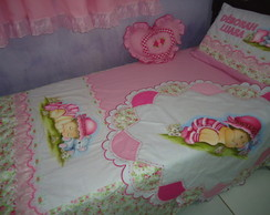 KIT DE QUARTO ROSA 04 pe�as
