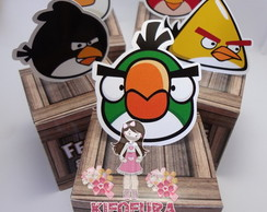 Caixa com Toten Angry Birds