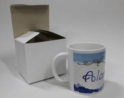 Caneca Cer�mica Personalizada com caixa