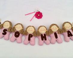porta maternidade cord�o de bonecas