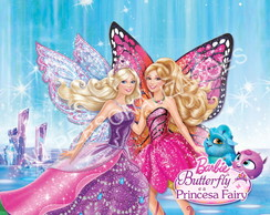 Painel com ilh�s Barbie Borboleta