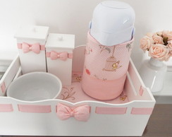 Kit Higiene Floral Borboletas & Po� 5p�