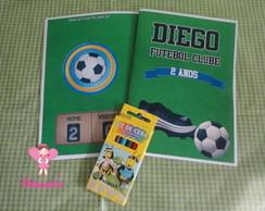 Kit livrinho de pintura Futebol 01