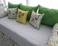 Kit De Cama Bab� Floresta