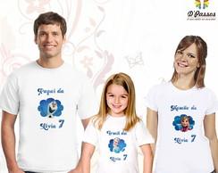 Kit 3 camisetas- Frozen 01