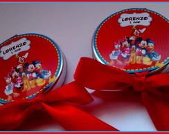 Latinhas Personalizadas Turma do Mickey
