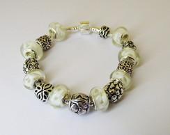 Pulseira Pandora Branca - Frete Gr�tis