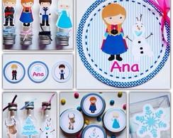 Kit Festa - Frozen - 150 Itens