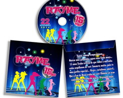 Envelope Personalizado para CD ou DVD