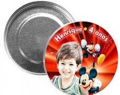 Latinha Mint to be 7x2 Mickey