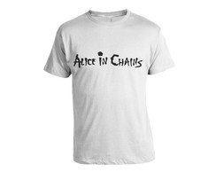 Camiseta Alice In Chains Pintada a M�o