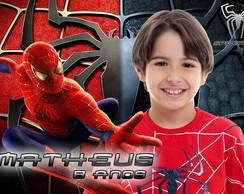 Lembrancinha Homem Aranha 6x9