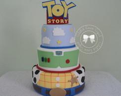 Bolo cenogr�fico Toy Story + Topo