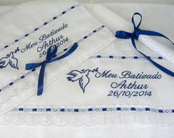 Kit Batizado Lavabo + Banho + Vela