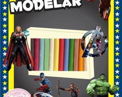 Massa de Modelar - Os Vingadores